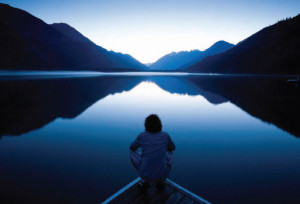 meditating-by-the-lake